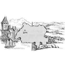 Швейцария — страна, картинка чёрно-белая