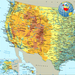 США — страна, картинка цветная