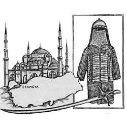 Турция — страна, картинка чёрно-белая