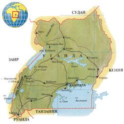 Уганда — страна, картинка цветная