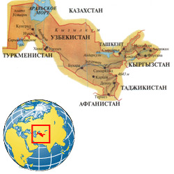 Узбекистан — страна, картинка цветная