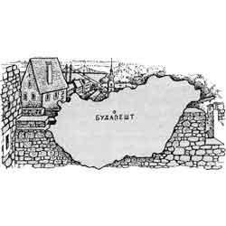 Венгрия — страна, картинка чёрно-белая