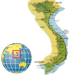Вьетнам — страна, картинка цветная